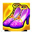 七彩玲珑鞋
