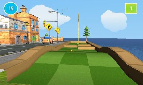 卡通迷你高尔夫游戏2