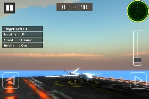 无人驾驶飞机飞行模拟器3d