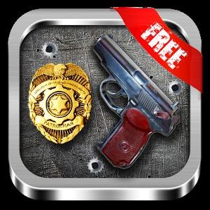 警方狙击手射击动作