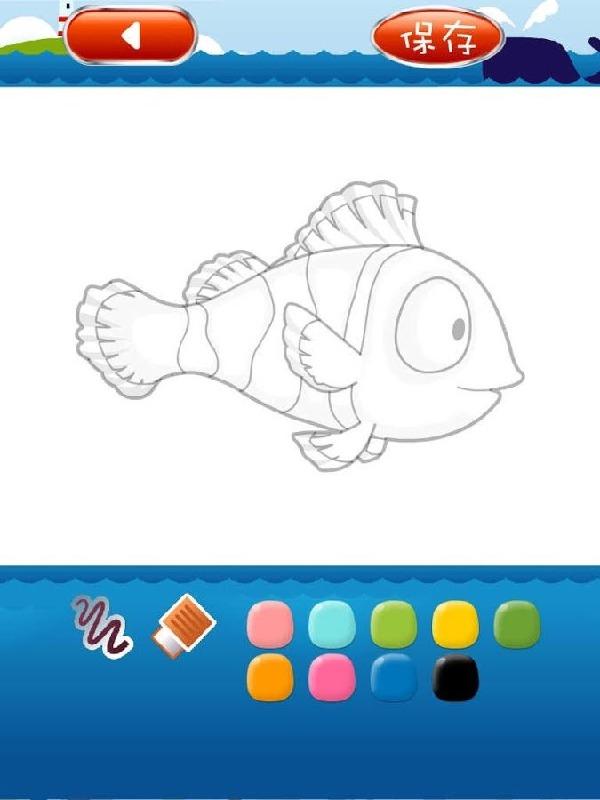 少儿海洋简笔画