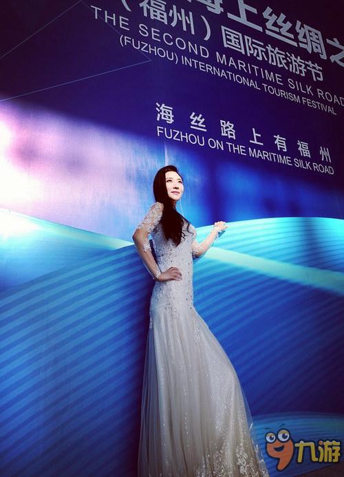 """徐千雅唱响""""海上丝绸之路""""国际旅游节主题曲"""