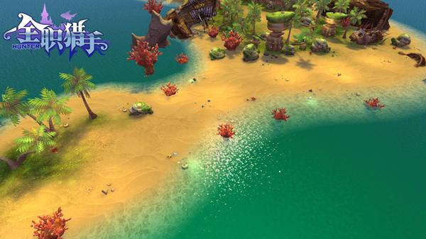 海滩 游戏场景素材