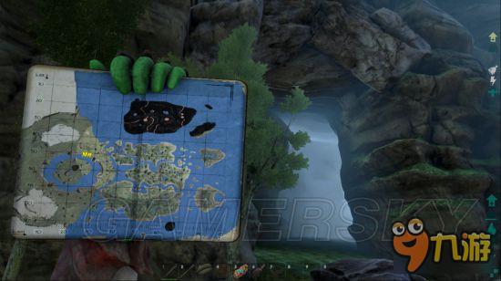 《方舟生存进化》中心岛地图矿洞详解_九游手机游戏