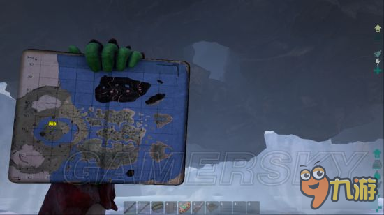 《方舟生存进化》中心岛地图矿洞详解