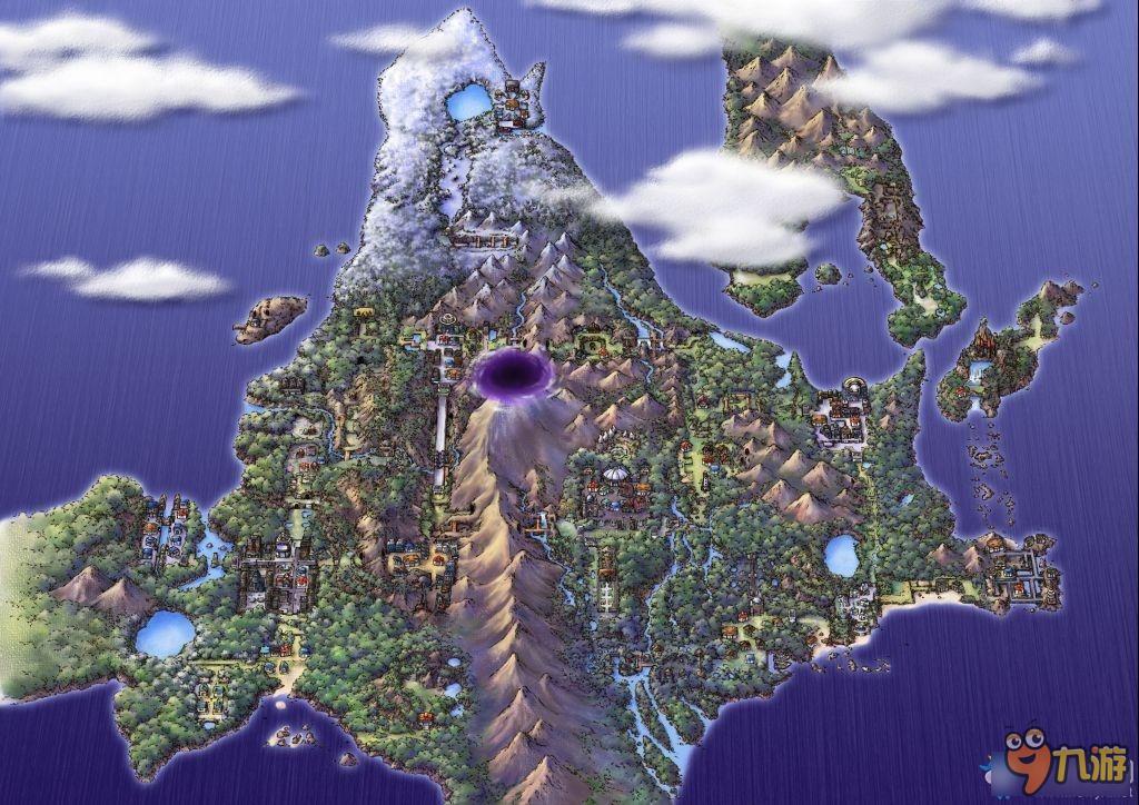 口袋妖怪系列全地图地区景点盘点图片