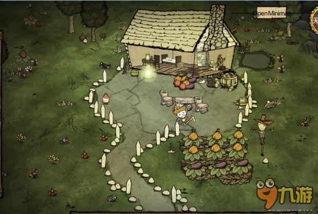 《饥荒》超豪华基地建设布局图赏析 1100天基地布局图_九游手机游戏