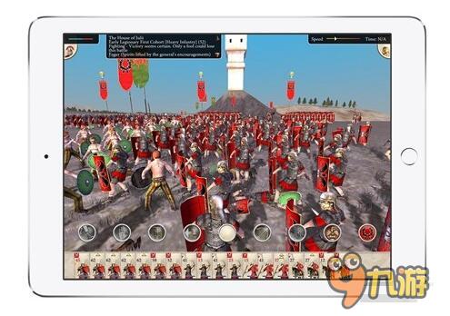 即时战微《罗马:片面战斗》本周四铰出产iPad版