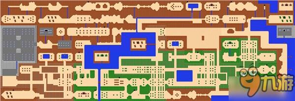红白机《塞尔达传说》人气依然旺盛 玩家3d打印自制地图图片