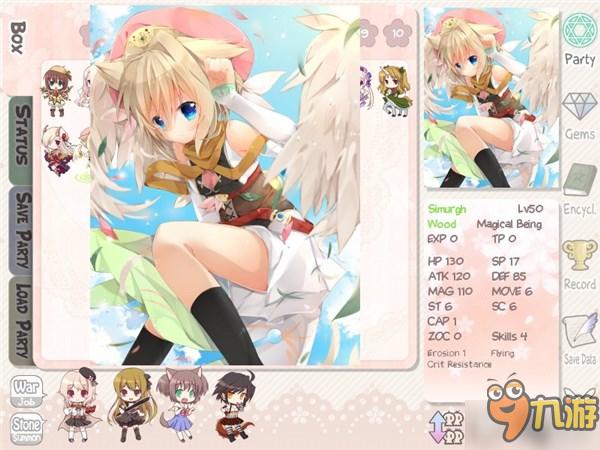 清一色的妹子角色!日系战棋游戏《Moekuri》登陆Steam