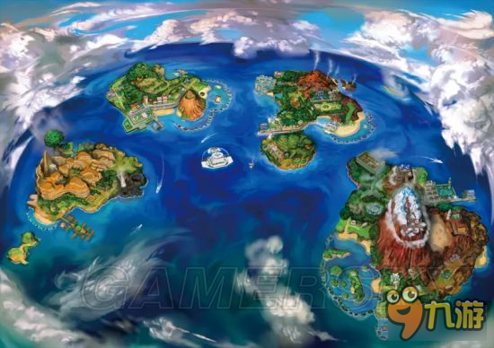 《口袋妖怪日月》全地图收集、精灵位置资料百科