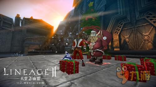 《天堂2》全新圣诞玩法 雪人大作战赢取时装坐骑