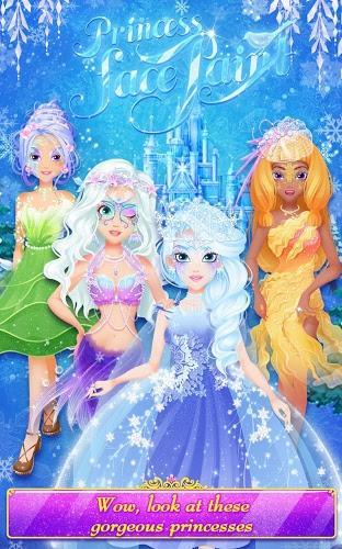 住着四位公主——温柔动人的美人鱼公主,美丽善良的冰雪公主,活泼可爱