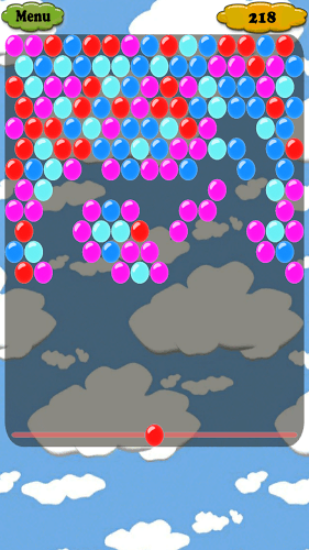 Match 3 or more bubbles with the same color. Sounds easy? ... ha! Classic / Action / Story Mode Easy / Medium / Heavy Skill per Mode Different bubble skins and themes Get many achievements Highscores 匹配3个或更多相同颜色的气泡。 听起来很容易吗? ...哈哈! 经典/动作/故事模式 易/中型/重型技能每个模