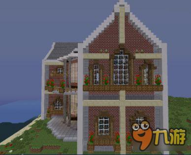 我的世界別墅怎么造 大型別墅建造圖文代碼下載