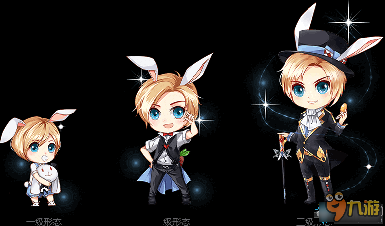 《qq飞车》爱丽丝主宠物-萌兔绅士