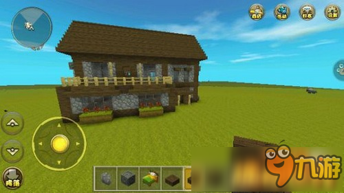 《迷你世界》房子设计图制作教程推荐