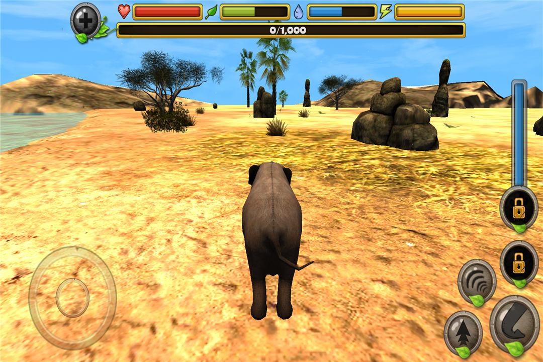 大象的模拟类游戏,这次玩家将扮演成世界上最大的陆栖哺乳动物大象.