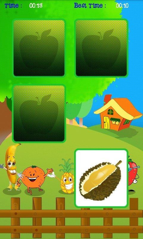 简介:permainan asah memori edisi buah buahan.