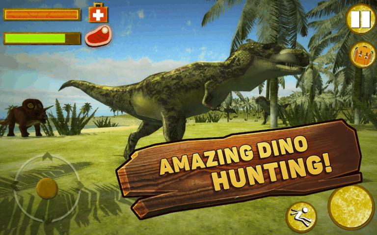 恐龙荒岛生存模拟