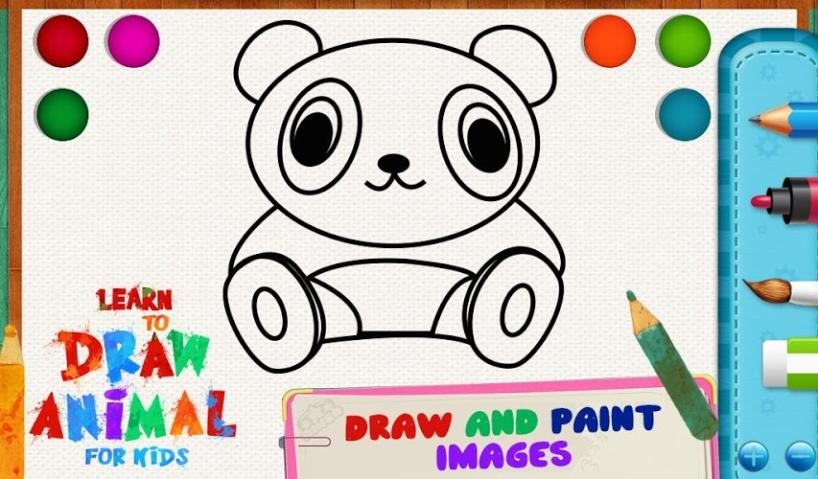 学画画动物为孩子v1.0.