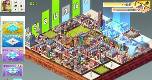 模拟城市与卡牌桌游的融合《水泥丛林》移动版9月18日发售