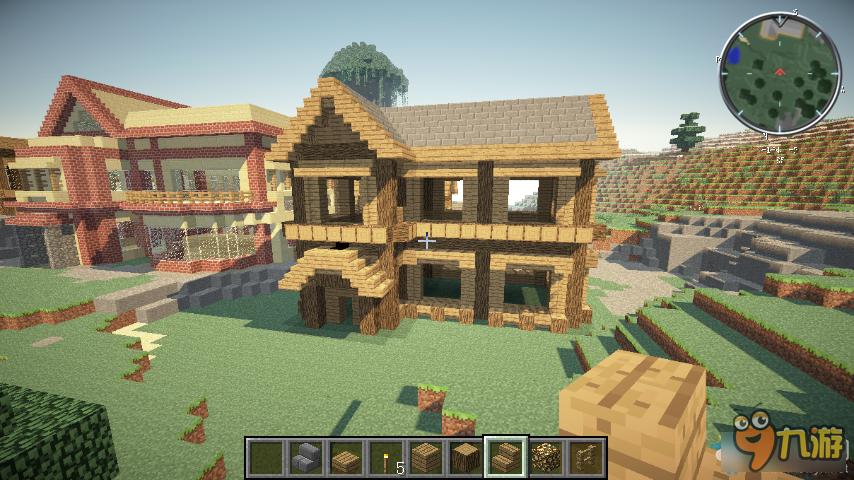 我的世界精美别墅建造 我的世界精美别墅建造图文介绍
