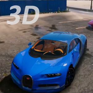 3D Bugatti 模拟器游戏