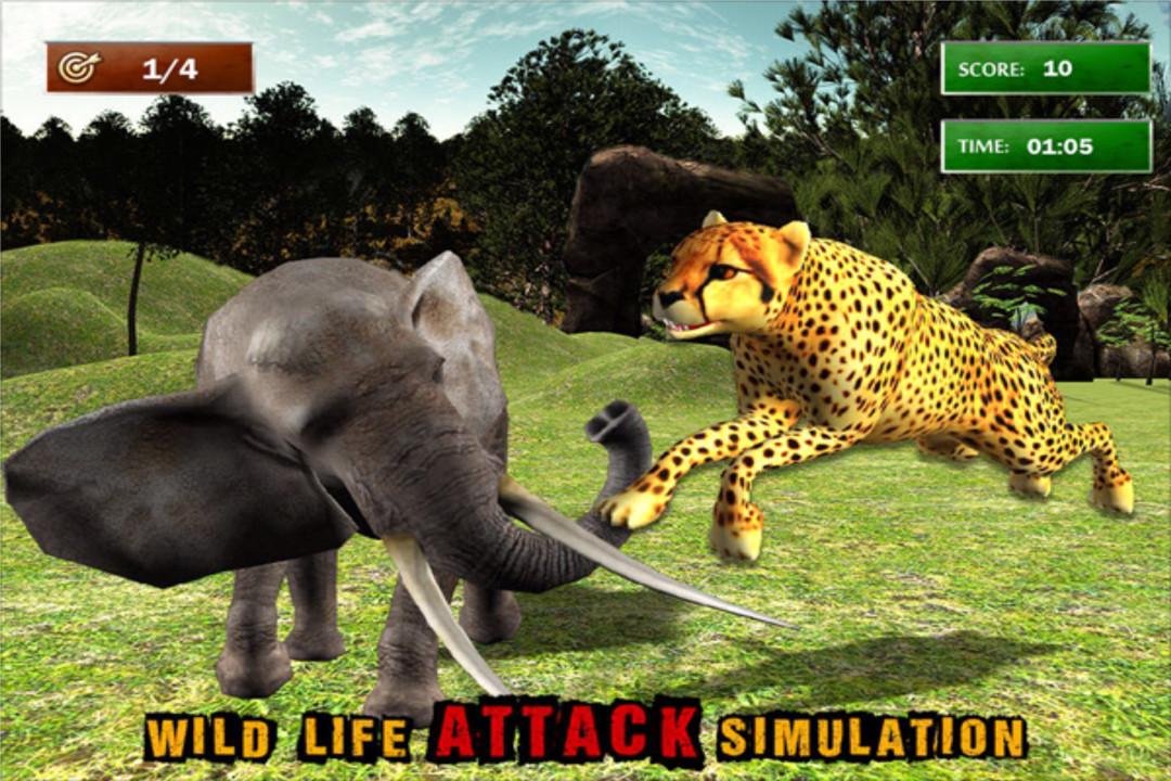 丛林动物模拟器好玩吗 丛林动物模拟器玩法简介