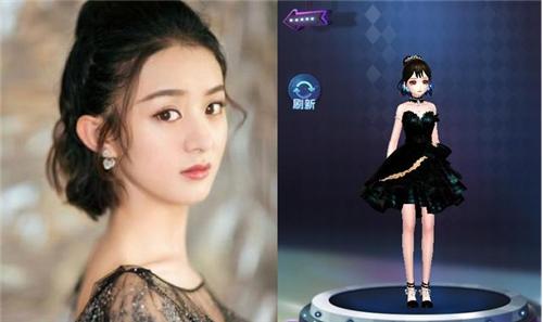 与常见的古装照和偶像剧照不同,赵丽颖此次的短发,也是wob发型!图片