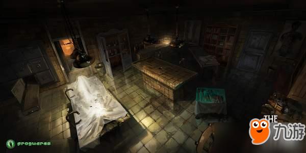 《沉没之城》设计原稿公开 画面阴森可怕诡异气氛浓