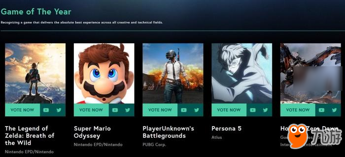 新游早报:TGA 2017最佳游戏提名公布、任天堂可能要拍马力欧电影