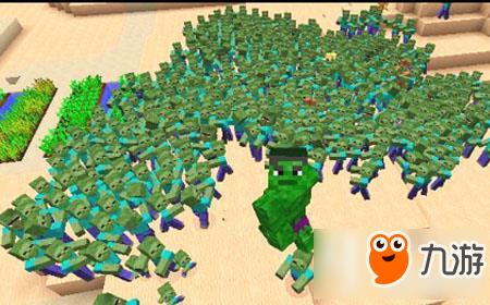 大海解说我的世界 绿巨人大战百万僵尸