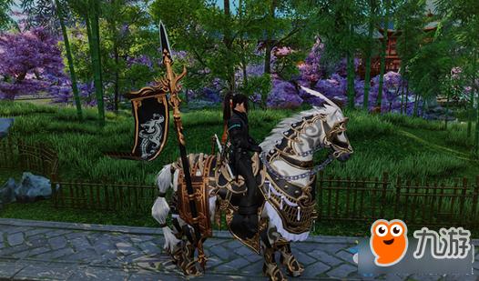《剑网3》重制版好友招募马具挂件展示