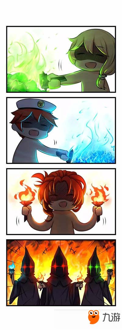 崩坏3同人漫画:四格漫画第三十八期