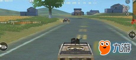 荒野行动吉普车机关枪怎么用 吉普车机关枪使用方法分享