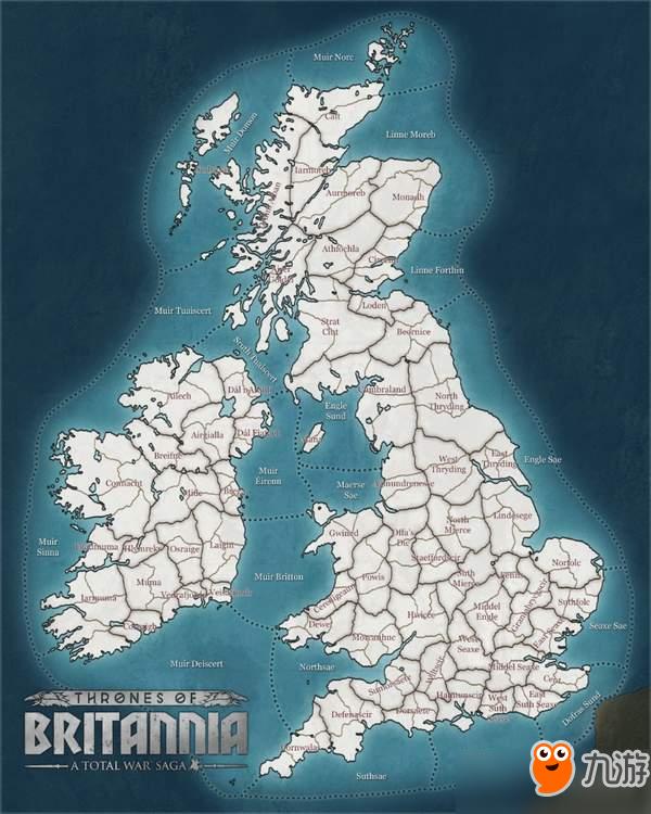 《全面战争传奇:不列颠王座》新情报 地图大到超乎想象图片