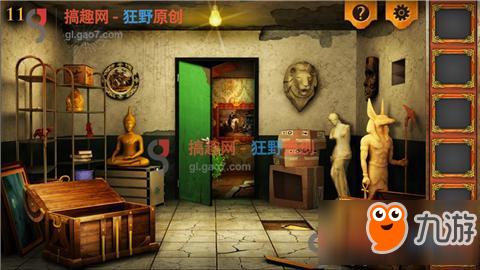 解锁密室实验室逃生第11关攻略实验室挑战攻梦幻西游2016攻略逃生图片