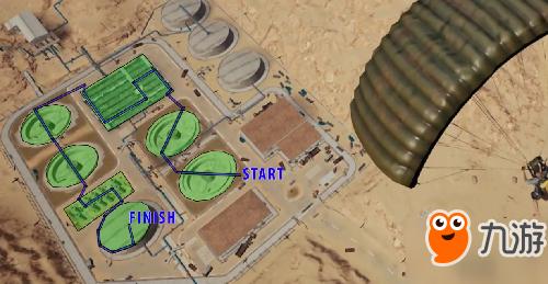 绝地求生沙漠地图在哪跳伞好?绝地求生pc1.0攻略大全