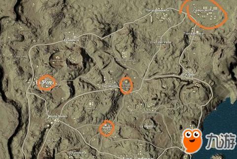 绝地求生 沙漠新地图资源哪里刷 资源获得攻略