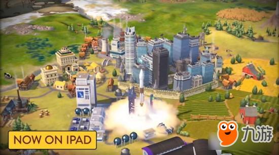 喜大普奔 策略游戏《文明帝国6》推出iOS版本