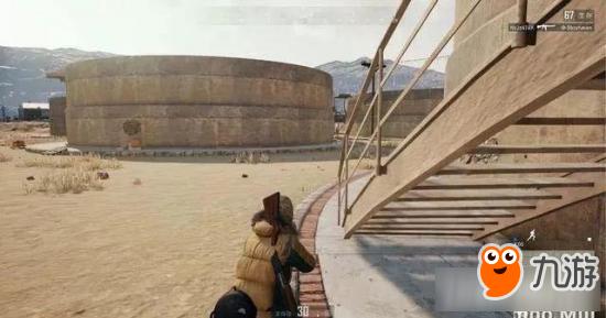 《绝地求生:大逃杀》沙漠地图军事基地资源介绍