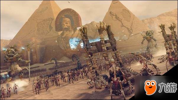 """战锤:全面战争2DLC""""古墓群王的苏醒""""背景势力介绍"""
