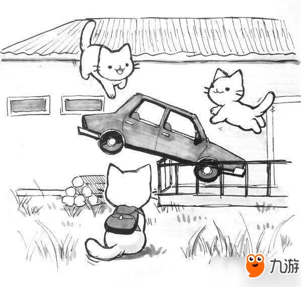 国外画师自制猫咪版《绝地求生》 战斗场面萌到出血