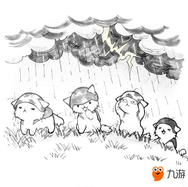 国外画师绘制猫咪版《绝地求生》 战斗画面萌出血