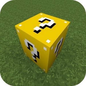 Lucky Gold Blocks Mod for MCPE