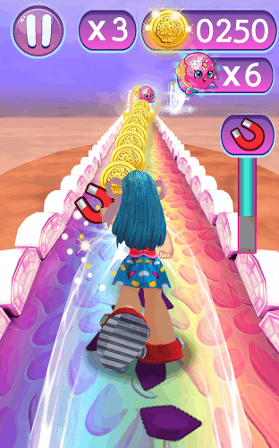 subway blue shopkins run