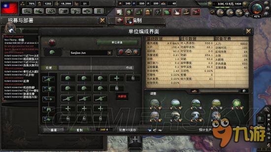《钢铁雄心4》步兵师深度研究分析说明 步兵师编制详解