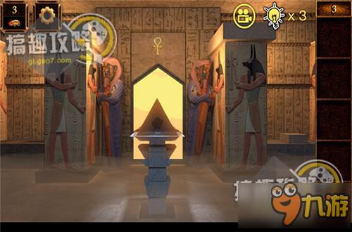 逃出攻略越狱11攻略通关神秘金字塔逃亡密室交响曲纯白ons图文图片