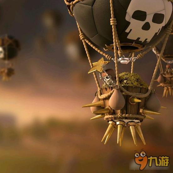 对气球威胁最大的永远是电塔,法师塔.